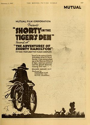 The Adventures of Shorty - Shorty in the Tiger's Den (1917)
