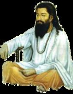 A portrait of Sri Guru Ravidass Ji