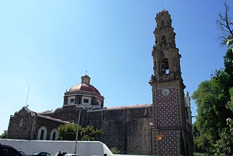 Teotihuacán Municipality - Church and former monastery of San Juan Evangelista