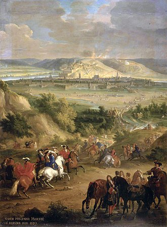 Nine Years' War - Siege of Namur, June 1692 by Jean-Baptiste Martin