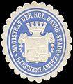Siegelmarke Magistrat der Königlich Bayerischen Stadt - Kirchenlamitz W0235216.jpg