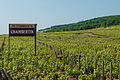 Sign announcing the beginning of the Chambertin vineyard (7309849056).jpg
