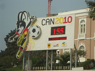 Africa Cup of Nations - Image: Sign for African Nations Cup