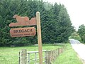 Sign for Bregach - geograph.org.uk - 1339776.jpg