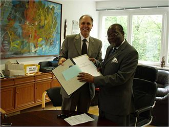 West African Elephant Memorandum of Understanding - Signing of the West African Elephant MoU by Ghana, May 2007