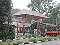 Singapore Zoo entrance heavy rainfall Nov 2016.jpg