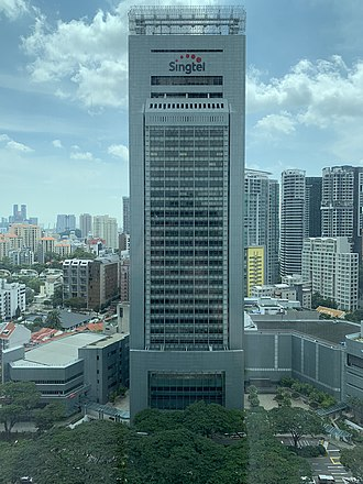 Singtel - Comcentre is the corporate headquarters of Singtel