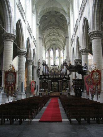St. James' Church, Antwerp - St. James' Church, interior
