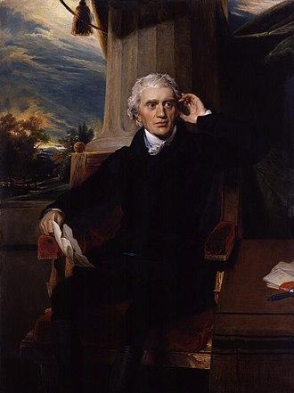 Sir Francis Baring, 1st Baronet - Sir Francis Baring, in a painting by Sir Thomas Lawrence