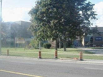 Port Union, Toronto - Sir Oliver Mowat Collegiate Institute is a public secondary school located in Port Union.