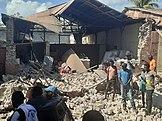 Haiti earthquake damage