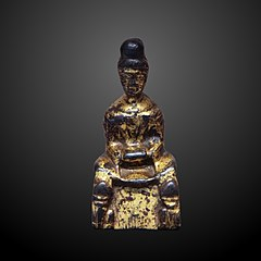 Sitted buddha meditating-EO 1116