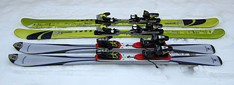 Salomon Group - Landmark Salomon skis: the 1080 and the Axecleaver