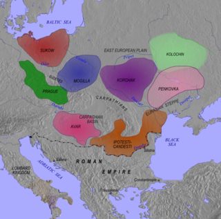 Early Slavic people inhabiting parts of Eastern Europe in the Early Middle Ages