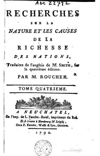 File:Smith - Recherches sur la nature et les causes de la richesse des nations, Roucher, 1792, IV.djvu