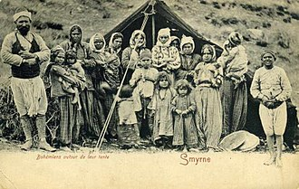 Romani people in Turkey - Image: Smyrne Group of Gypsy