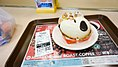 Snoopy Donut 153 yen (about 1 euro), Mister Donut Akihabara Shop (2013-11-25 06.14.08 by Antonio Tajuelo).jpg
