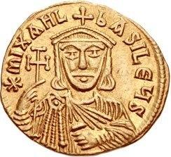 Solidus of Michael II the Amorian