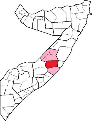 El Buur District - Image: Somalia, Galguduud region, Ceel Buur district