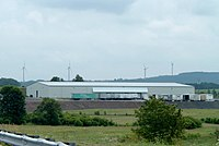 Somerset Wind Farm, behind warehouse in Pennsylvania.jpg