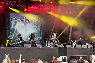 Sonata Arctica - Sonata Arctica performing live at Rockharz Open Air in July 2016