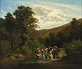 Sonntäglicher Familienausflug im Wienerwald 1876.jpg
