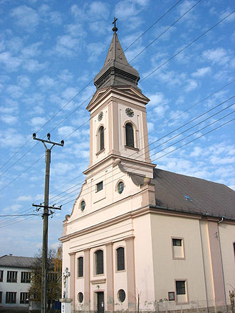 Croats of Serbia - Saint Lawrence the Martyr Catholic Church in Sonta