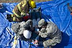 South Carolina State Guard first responders render first aid to simulated victims responders.jpg