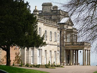 Dunstall Hall - South front of Dunstall Hall