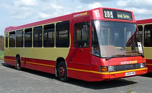 Optare Delta - An Optare Delta owned by Southern Transit