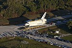 Space Shuttle Atlantis Rolls Slowly to Its New Home 04.jpg