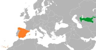 Spain–Uzbekistan relations