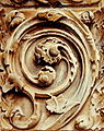 Spiral relief from the north transept door, Rouen Cathedral.jpg