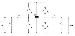 Split-pi topology