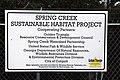 Spring Creek partnership sign (6477579693).jpg