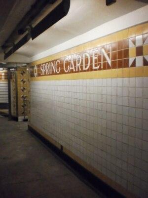 Spring Garden station Broad Street Line Wikipedia