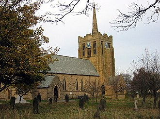 Stanley, County Durham - Image: St.Andrew's Church, Stanley,Co.Durham geograph.org.uk 76395