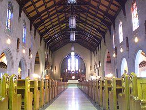 Saint-Dominique Church (Quebec City) - Image: St. Dominic Church interior, Quebec City