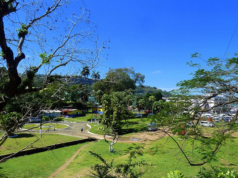 File:St. Lucia, Karibik - Look at King George V of the Garden of Calvary Rd - panoramio.jpg