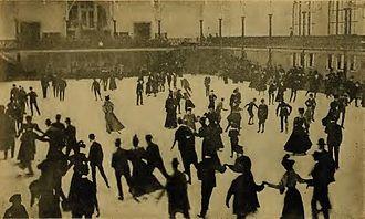 St. Nicholas Rink - 1901 pleasure skating