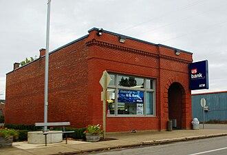 St. Paul, Oregon - U.S. Bank branch in the city