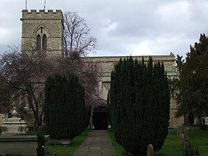 St Giles' Church, Oxford - Image: St Giles Church Oxford