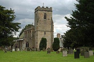 Grade I listed buildings in Staffordshire - Image: St Leonard Blithfield
