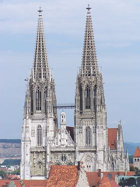 Image illustrative de l'article Cathédrale Saint-Pierre de Ratisbonne
