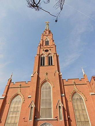 History of the Lithuanians in Baltimore - St. Alphonsus Church, Rectory, Convent and Halle, March 2012.