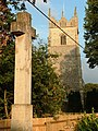St Andrews Church and War memorial, Northwold - geograph.org.uk - 306446.jpg