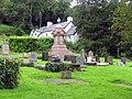 St Cadoc Llancarfan, Glamorgan, Wales - Churchyard - geograph.org.uk - 544628.jpg