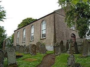 Scottish Redundant Churches Trust - St Marnoch's Kirk, Benholm. The trust acquired this church following its closure in 2003.