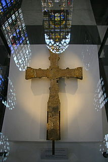 Brussels Cross Anglo-Saxon cross-reliquary