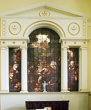 Francis Eginton - East window of St Paul's Church, Birmingham, Birmingham (1791).